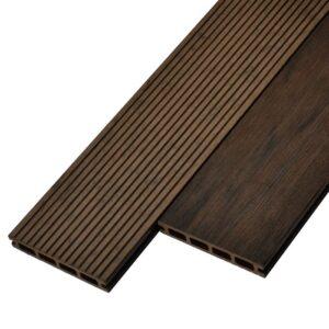 Террасная доска ДПК, декинг WoodVex Siesta цвет венге (мультиколор)