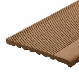 Ступень ДПК WoodVex Stair 348х22 мм цвет кофе