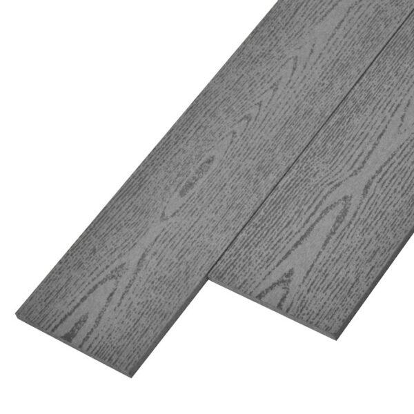 Заборная доска ДПК, планкен Deckson Fance цвет серый