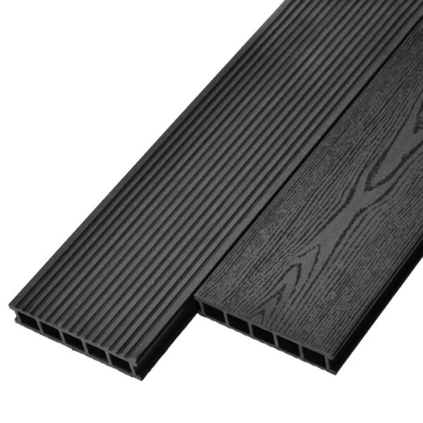 Террасная доска ДПК, декинг Deckson Universal 165х32 мм цвет графит
