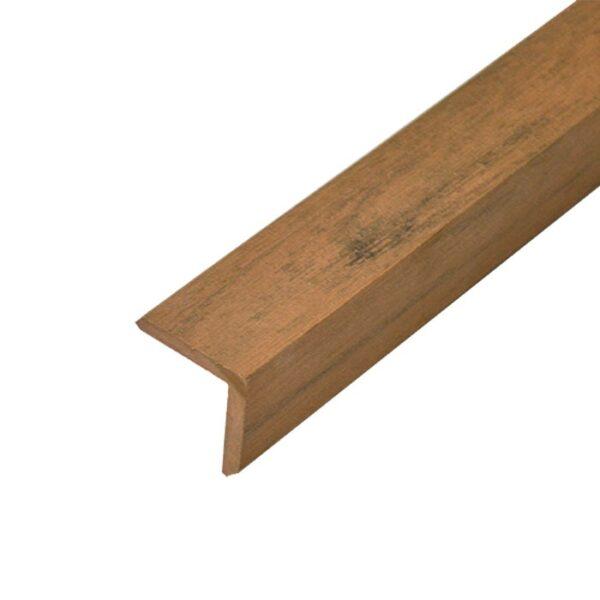 L-планка, угол ДПК для террасной доски Elegant 40х40х4000 мм цвет палисандр