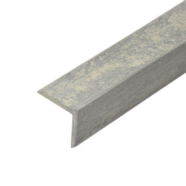 L-планка, угол ДПК для террасной доски Siesta 53х53х3000 мм цвет серый дым