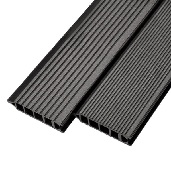 Террасная доска ДПК, бесшовная доска Werzalit Terrazat 145х38 мм цвет карбоне