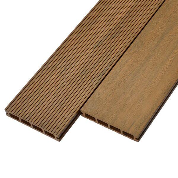 Террасная доска ДПК, декинг WoodVex Elegant 150х25 мм цвет палисандр