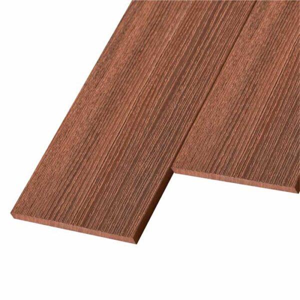 Заборная доска ДПК, планкен WoodVex Planken цвет палисандр