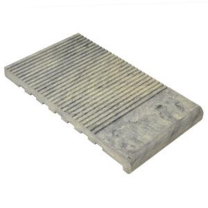 Ступень ДПК WoodVex Stair 348х22 мм цвет серый дым (мультиколор)