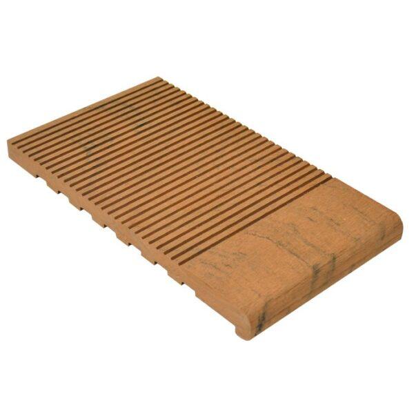Ступень ДПК WoodVex Stair 348х22 мм цвет палисандр (мультиколор)