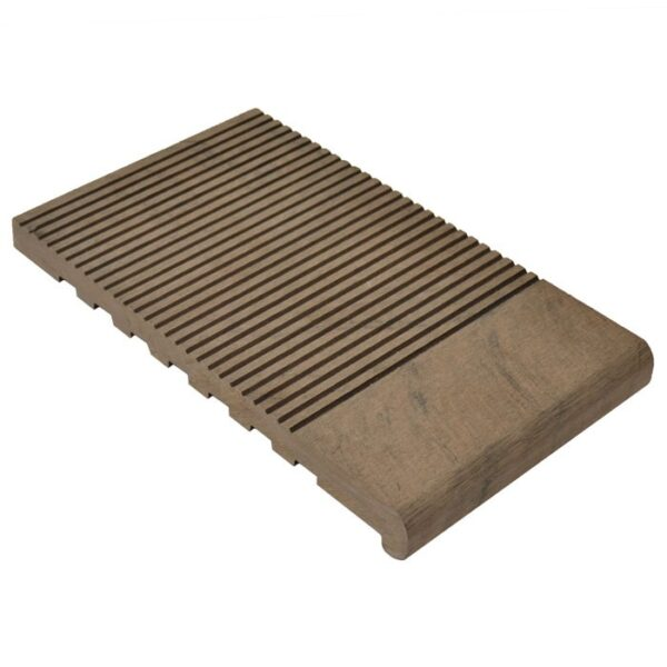 Ступень ДПК WoodVex Stair 348х22 мм цвет венге (мультиколор)