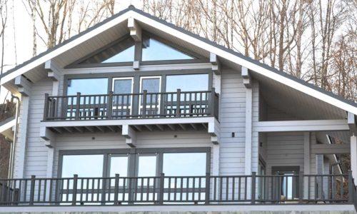Ограждение ДПК на балконе и террасе
