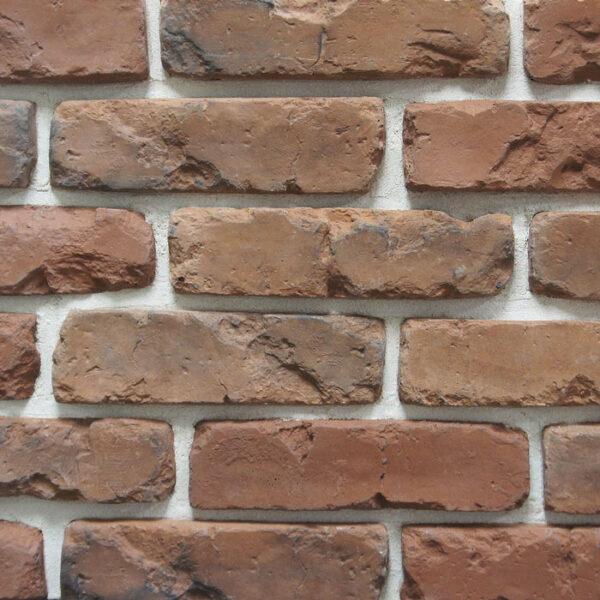 Облицовочный декоративный кирпич Питер Брик 2593 для внешней отделки фасадов и внутренней отделки дома, квартиры и других помещений