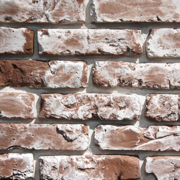 Облицовочный декоративный кирпич Питер Брик 2597 для внешней отделки фасадов и внутренней отделки дома, квартиры и других помещений