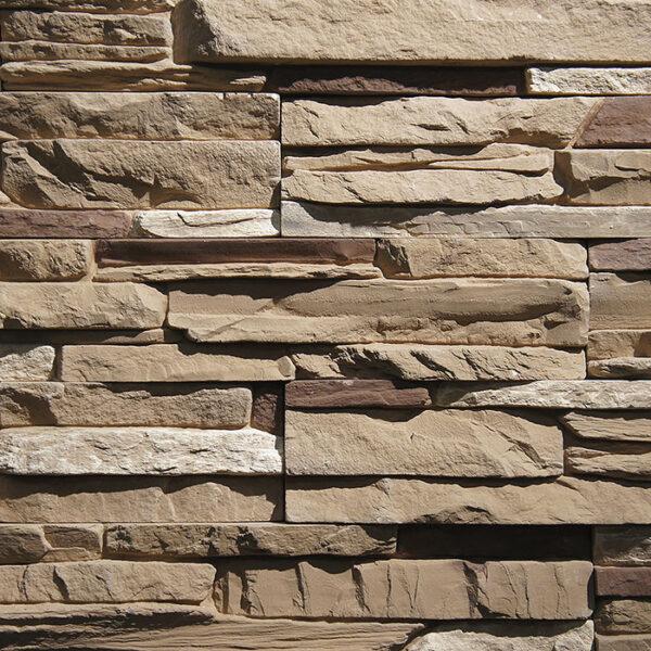 Искусственный декоративный камень Карелия 3048 для внешней отделки фасадов и внутренней отделки дома, квартиры и других помещений