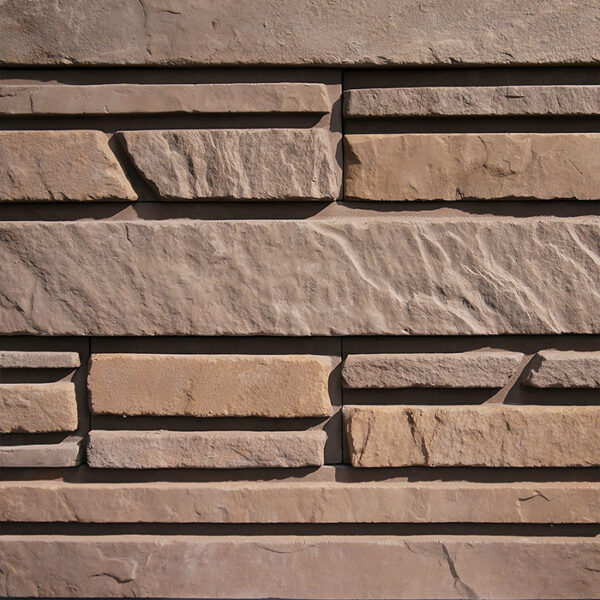 Искусственный декоративный камень Люцерн 1264 для внешней отделки фасадов и внутренней отделки дома, квартиры и других помещений
