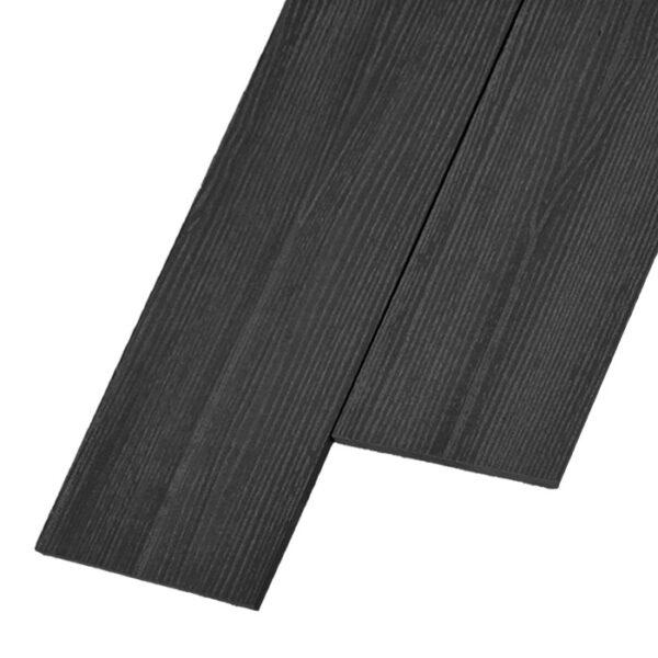 Композитная заборная доска из ДПК, планкен Savewood R 145x9 мм цвет графит