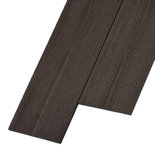 Композитная заборная доска из ДПК, планкен Savewood R 145x9 мм цвет коричневый
