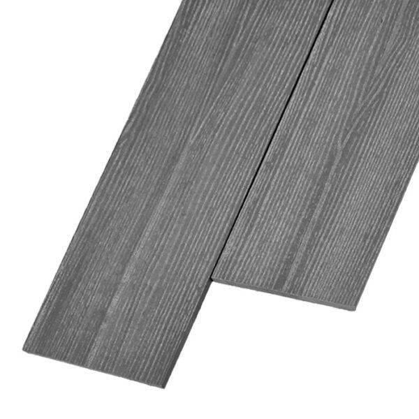 Композитная заборная доска из ДПК, планкен Savewood R 145x9 мм цвет серый