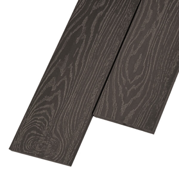 Композитная заборная доска из ДПК, планкен Savewood 145x9 мм цвет коричневый